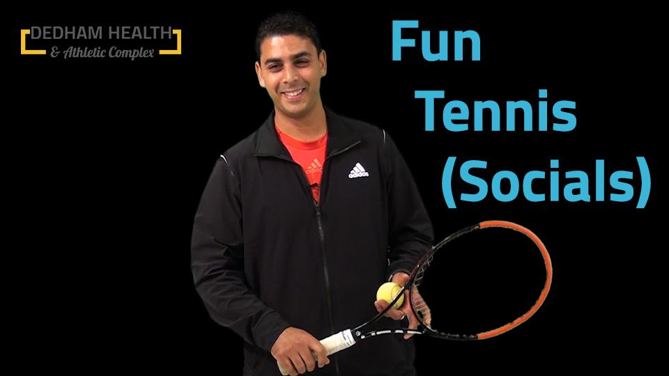 tennis socials video