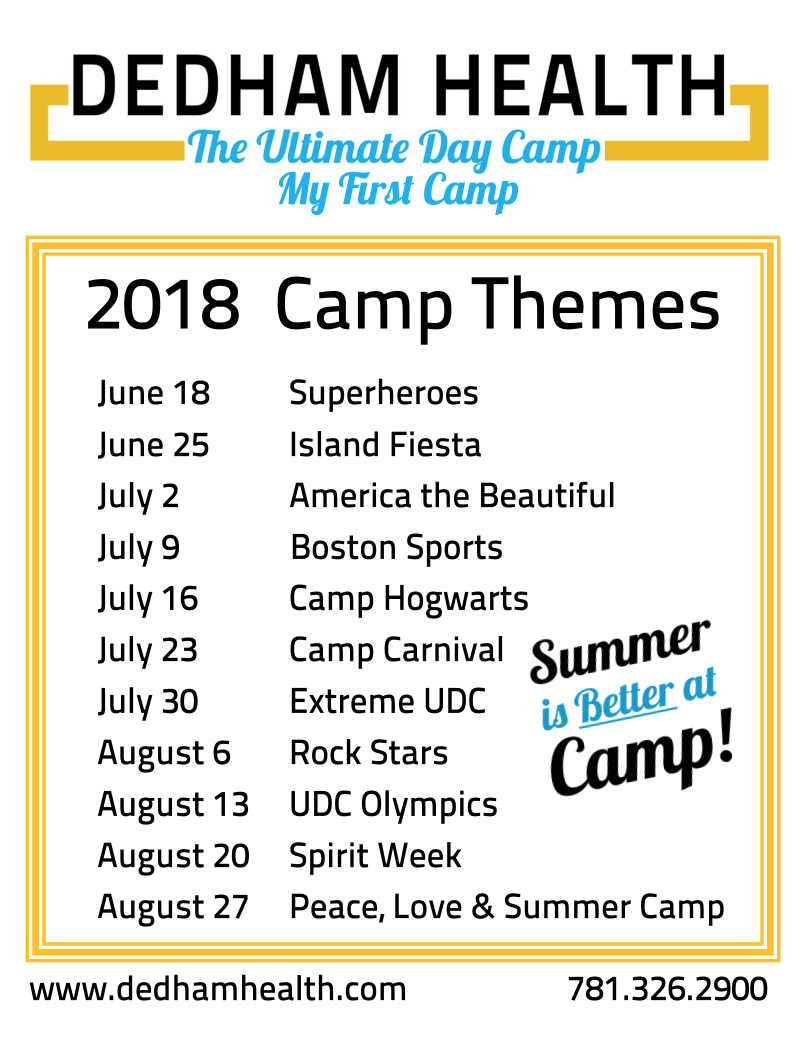 Summer Day Camp Themes - Best Camp 2018