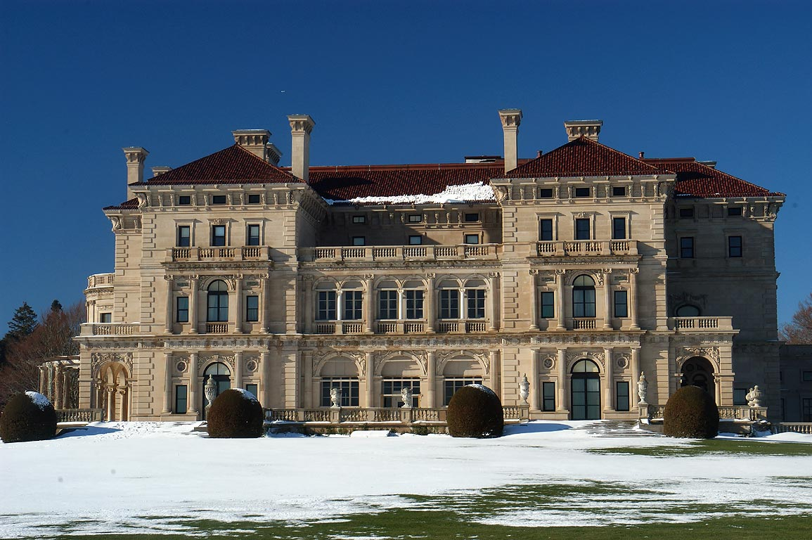 The Breakers at Christmas, Newport RI