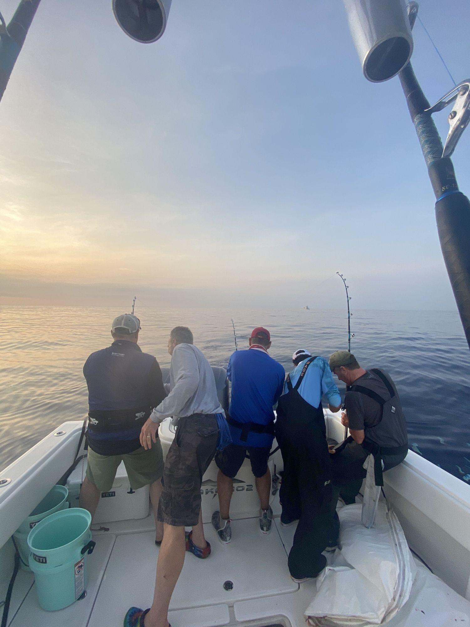Jakamo Sportsfishing early morning