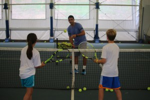 Tennis Camp Kids