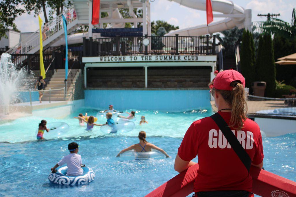 Lifeguarding summer 2017