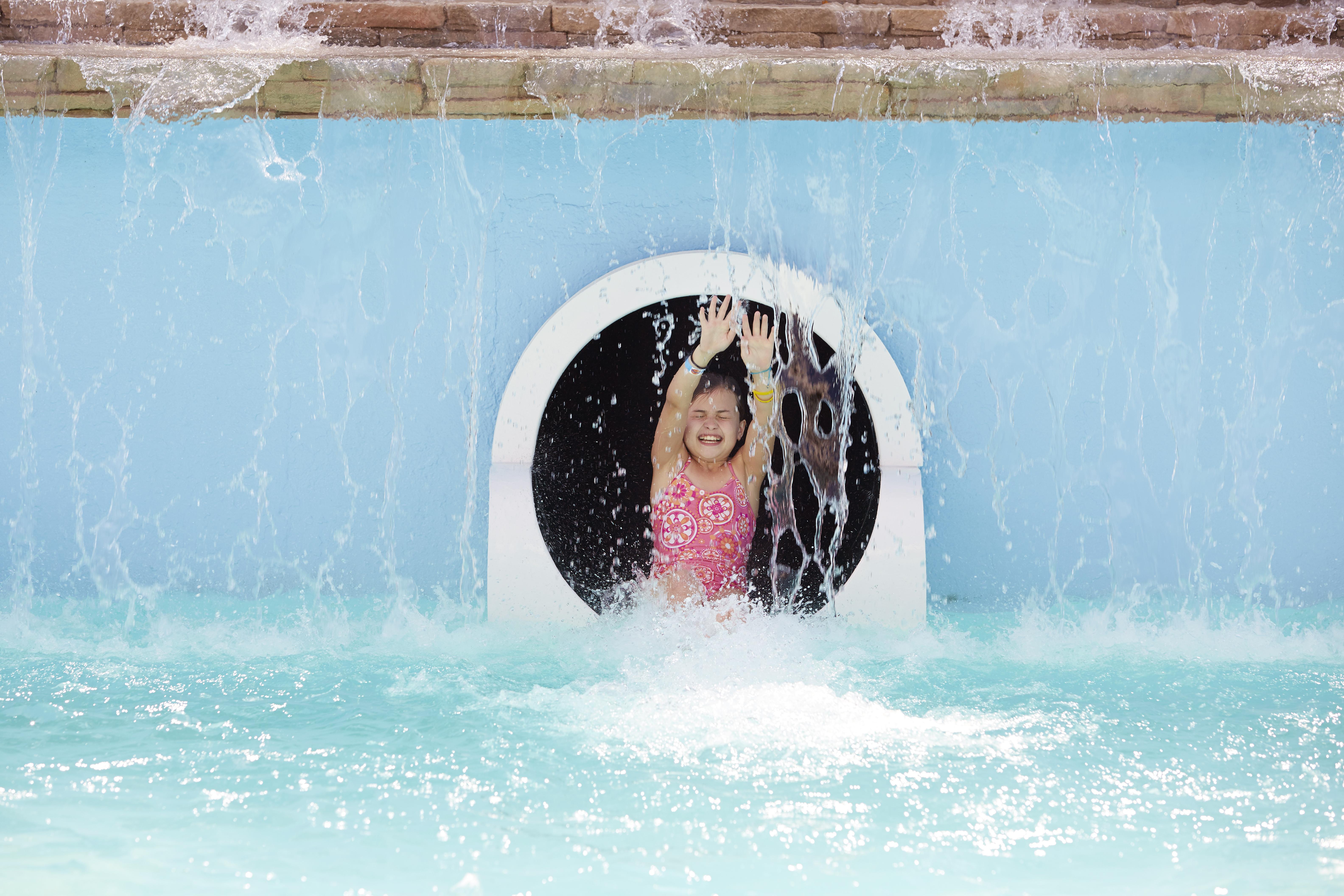 Pool Slide_girl