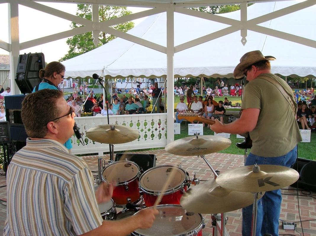 Concerts in Muskrat Park