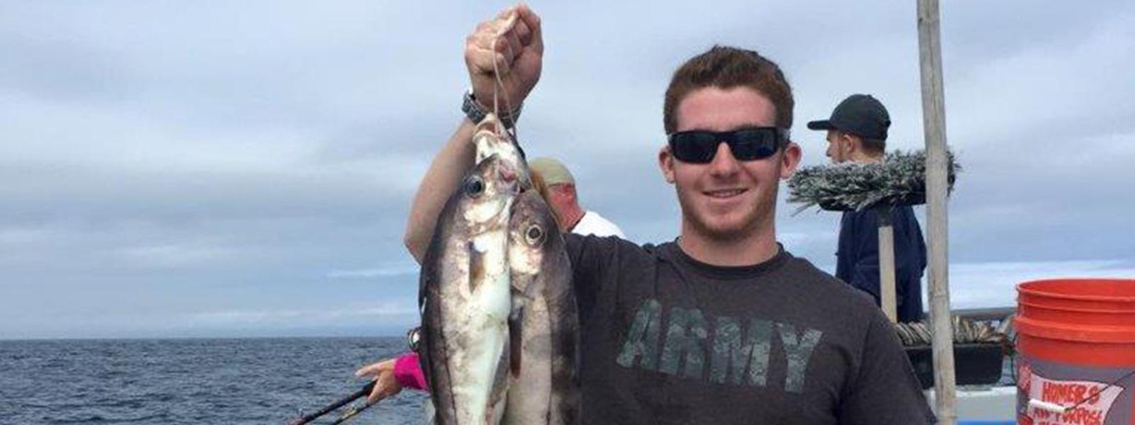 Captain John Boats fishing trip