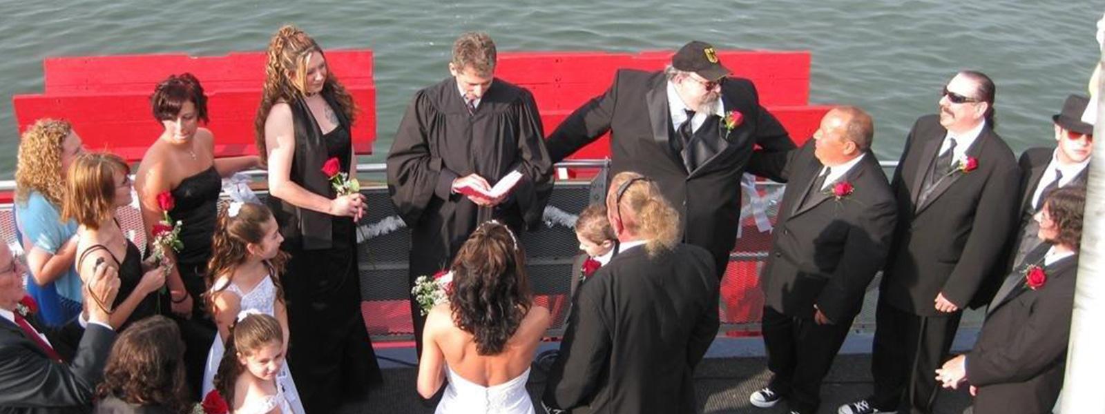 Wedding on the cruise
