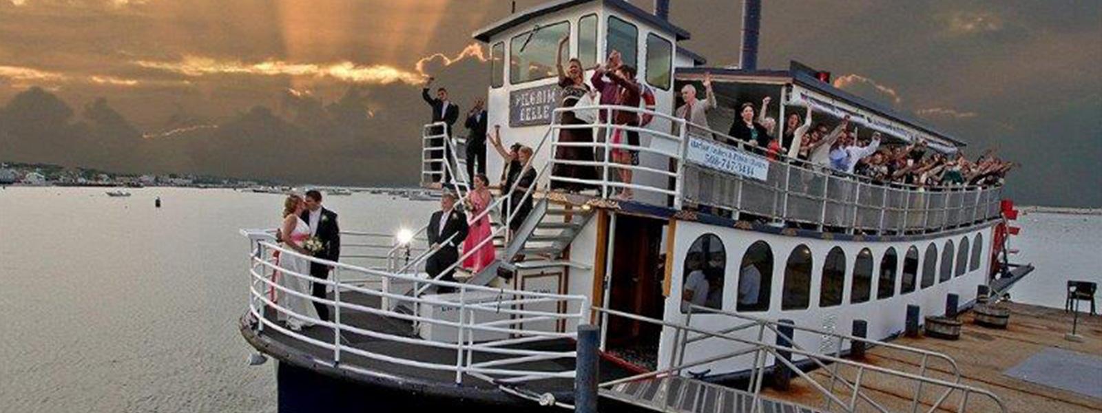 Pilgrim Belle Cruises Wedding