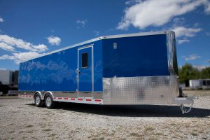 picture of outside trailer