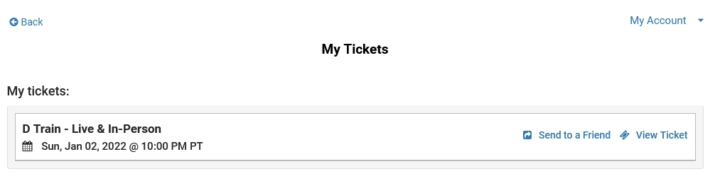Digital Ticketing Guide