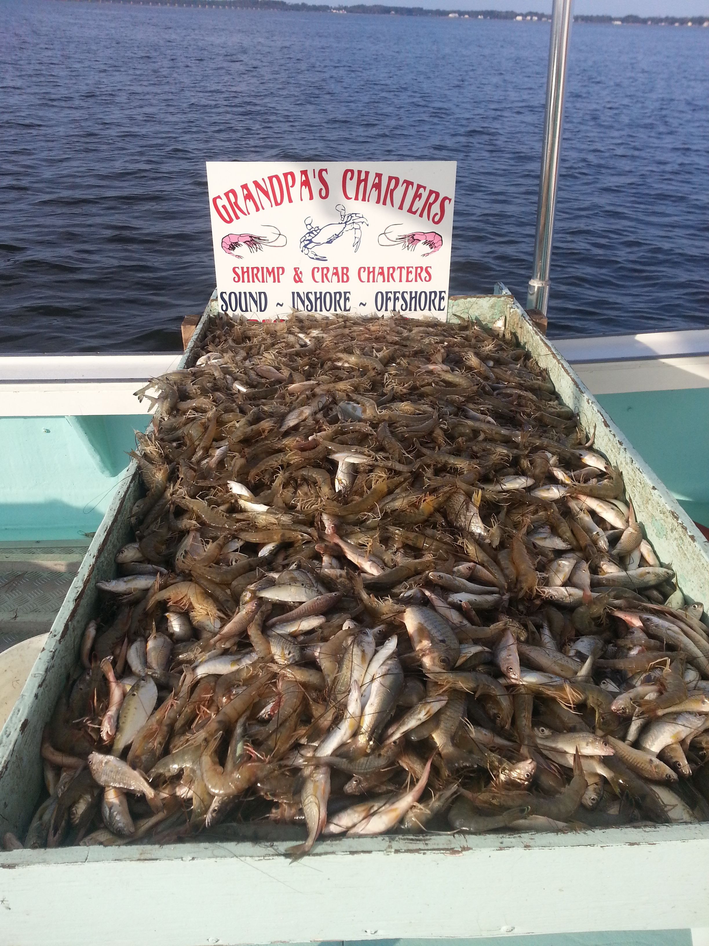 Shrimp & Crab Charters in the Outer Banks