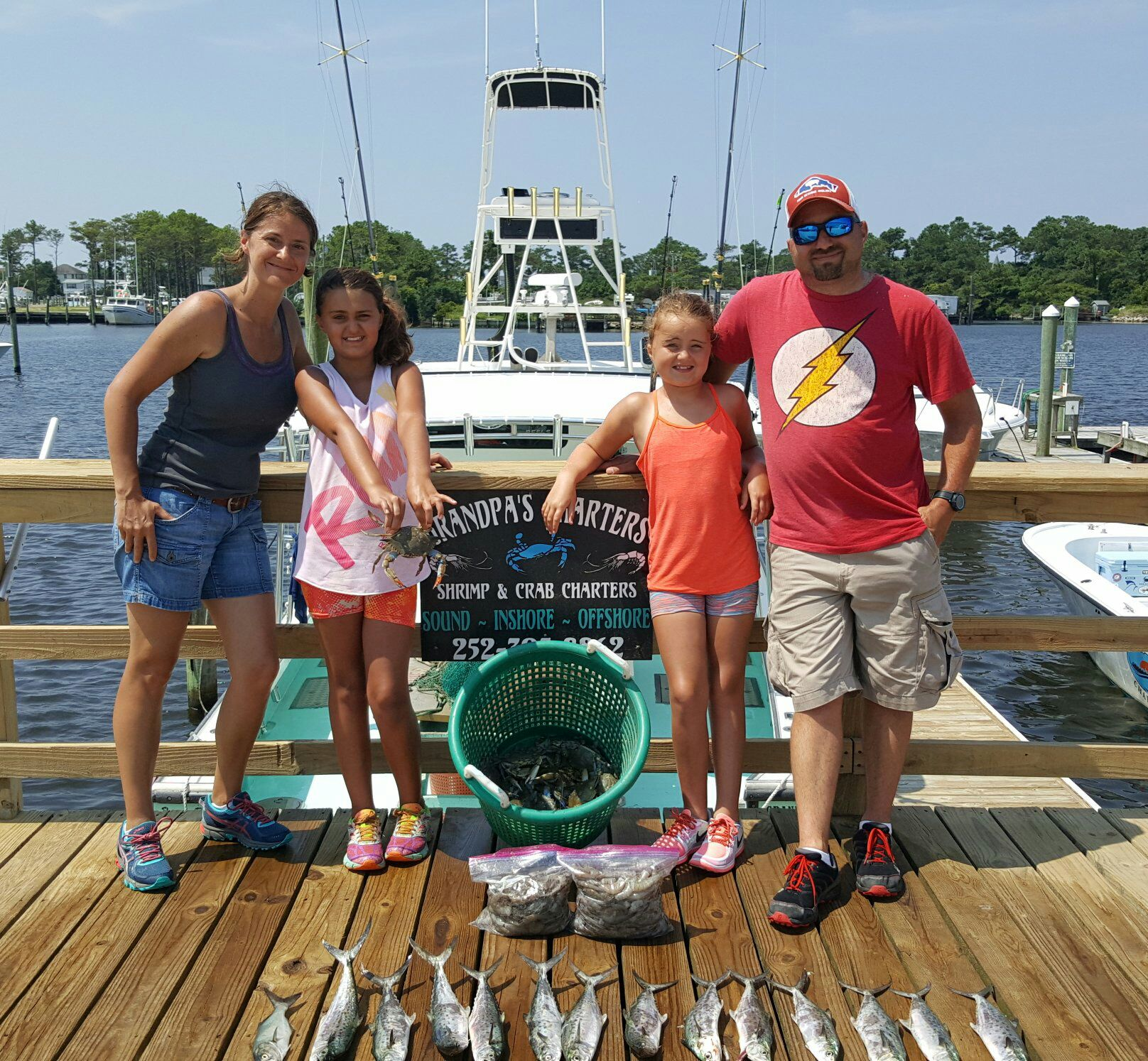 Catching Shrimp Outer Banks