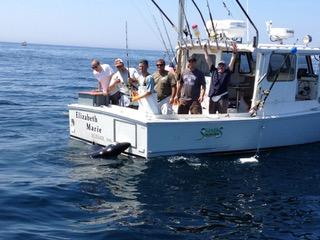 Boston Shark Fishing Elizabeth Marie 3