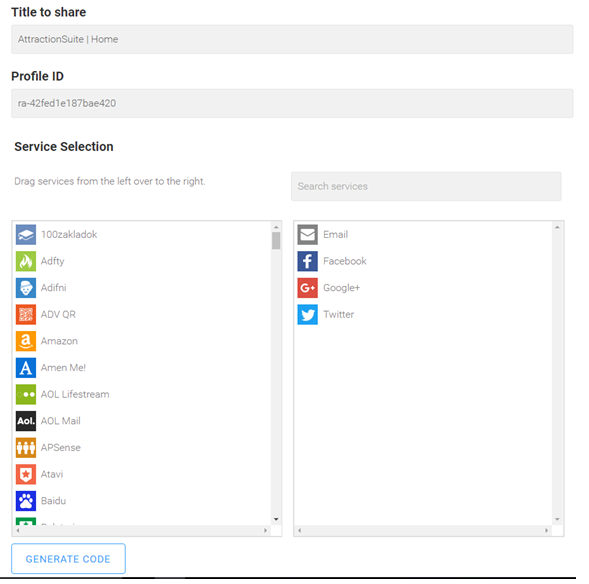 Adding Social Sharing Buttons