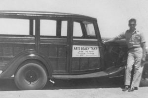 Art's Beach Taxi in the 1950's