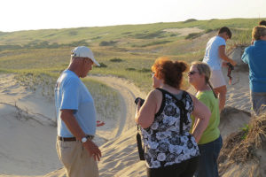 A Photo Stop with Art's Dune Tour Guide