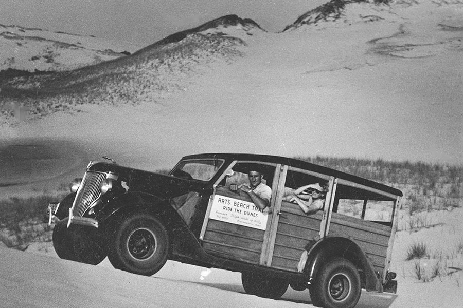 Photo of Vintage Art's Beach Taxi