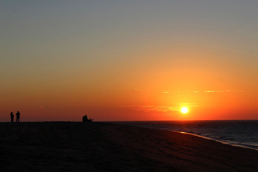Sunset on Dune Tour